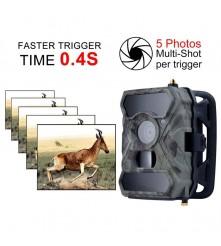 Lovačka TRAIL kamera za diskretno snimanje HD fotografija ili video klipova te njihovo slanje putem emaila ili MMS-a.