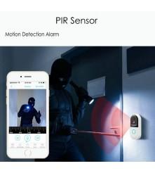 Portfon radi i u noćnim satima bez svjetla, jer ima mogućnost infracrvenog noćnog snimanja