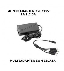 Profesionalni AC/DC 12V adapteri za napajanje svih vrsta kamera