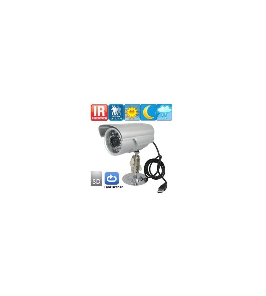 Vodonepropusna kamera sa IR diodama za snimanje i po mraku.