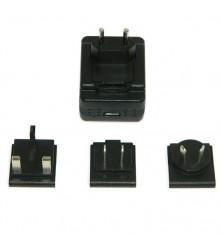 USB punjač sa SPY WIFI kamerom isporučuje se utikačima za SAD, UK, EU i Australiju.