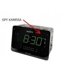 SONY radio budilica s ugrađenom spy kamerom i snimačem