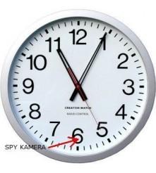 Elegantni zidni sat sa ugrađenom SPY kamerom i snimačem na SD karticu.